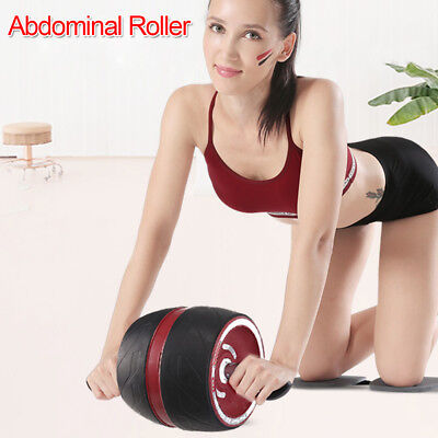 Perfect Fitness Ab Carver Pro Exercise Wheel Roller Six Pack Abs Workout Gym Whi