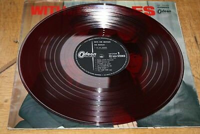 RARE JAPAN With the Beatles LP Erstpressung 1966 OP-7549 RED WAX ROTES VINYL