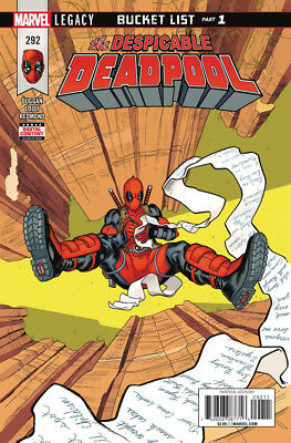 DESPICABLE DEADPOOL (2017) #292 New Bagged