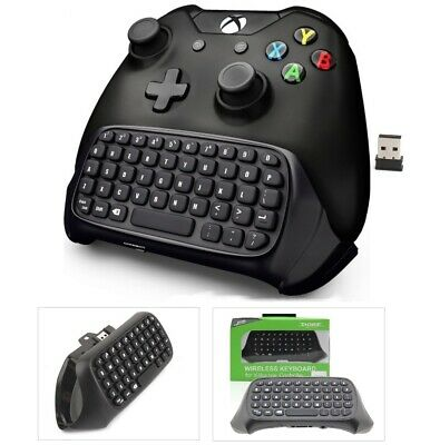 TASTIERA per CONTROLLER XBOX ONE CHAT Pad WIRELESS GAMING JOYSTICK NO BLUETOOTH