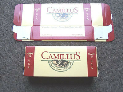 "ONE Camillus Empty Pocket Knife Box for Knives 6 1/4"" X 2 5/8"""
