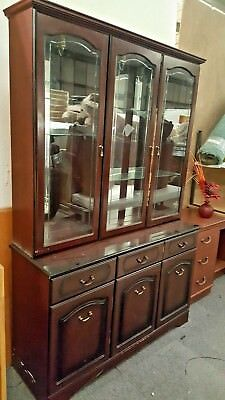 Reproduction Antique Mahogany Dresser/Cabinet