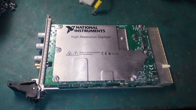 NI National Instruments PXI-5124 200 MS/s 12-Bit High Resolution Digitizer