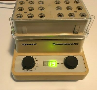 Eppendorf Thermomixer  5436. Used. Functional.Read Description of Condition.