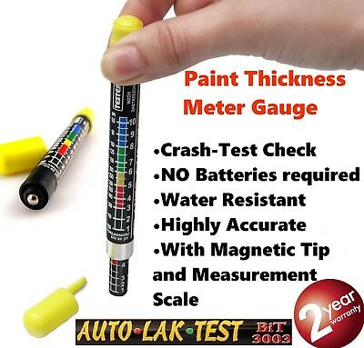 NEW BIT 3003 Car Paint Thickness Tester Meter Gauge CRASH CHECK TEST
