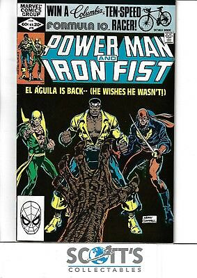 Power Man and Iron Fist  #78  NM-  3rd Sabretooth