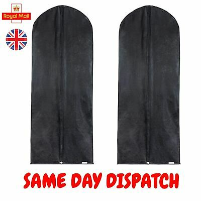 2 DRESS PROTECTOR Bags Covers For Wedding Dress Clothes Garments ...