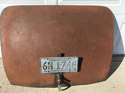 1939 39 Chevrolet Chevy Car Trunk Deck Lid Cover