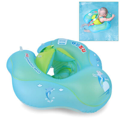 Baby Float Swimming Ring Kid Inflatable Swim Tube Trainer Pool Water Fun Toy S-L