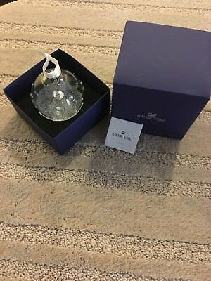 SWAROVSKI Christmas Ball Ornament 2017 Annual Edition NIB mint 5241591