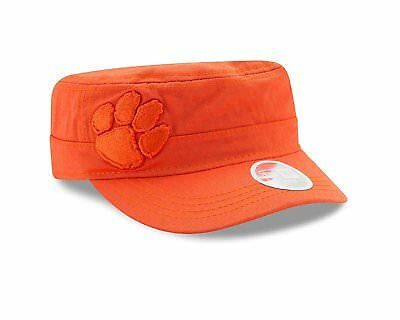 great fit eecc9 a698f NCAA Clemson Tigers Womens Radiant Military Hat Cap, Orange One Size New Era