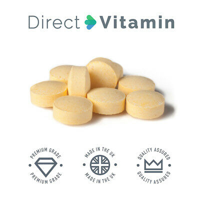 Vitamin B Complex Contains all Eight B Vitamins in one 90/180/365 Tablets Vegan