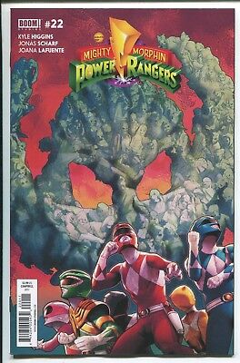 Mighty Morphin Power Rangers #22 - Jamal Campbell Cover - Boom Comics/2017
