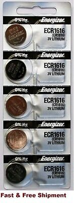 5 x Brand New Original 2PC Energizer CR1616 ECR1616 Coin Cell Battery - Canada
