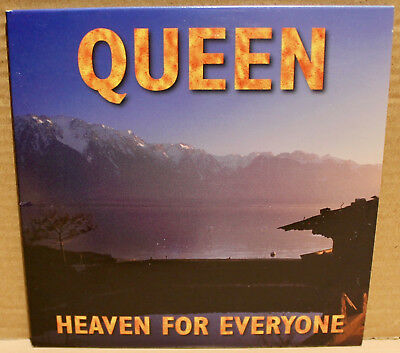HOLLYWOOD PROMO CD HR-64006-2: Queen - Heaven For Everyone - 1996 USA NM