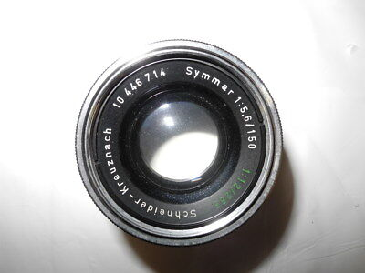 Schneider-Kreuznach symmar convertible 150/265 lens cells and retaining ring