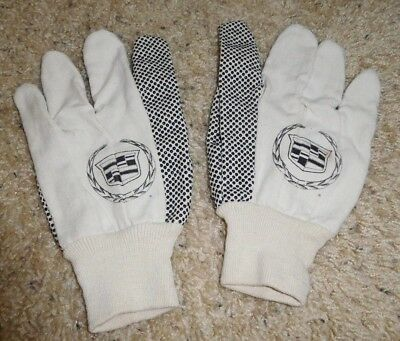 Cadillac Car Auto Safety Work Gloves Used Large Suv