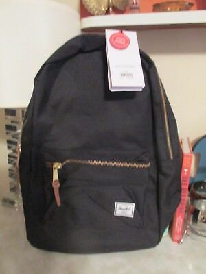 19d120bcc13 HERSCHEL SUPPLY CO. Settlement Backpack Black Nwt -  43.20
