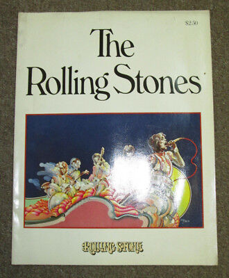 Rolling Stones 1975 Photo Book by Rolling Stone Magazine/Straight Arrow Pubs, VG