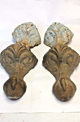 Antique Cast Iron Ball And Claw Feet