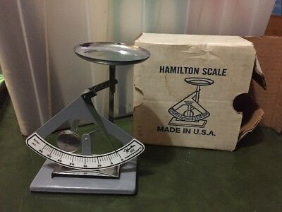 Antique Hamilton Penny Weights Scale Model 35-P Pennyweights In/with Box
