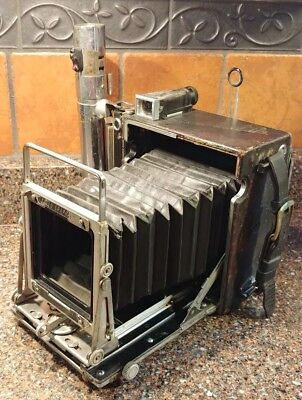 ANTIQUE GRAFLEX SPEED GRAPHIC CAMERA BODY for PARTS OR RESTORATION