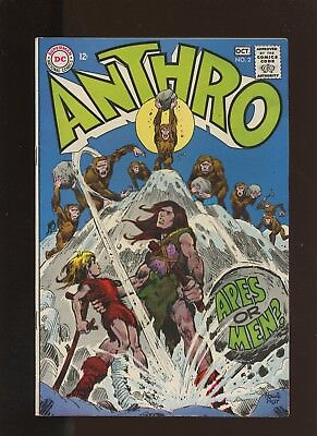 Anthro 2 FN+ 6.5 * 1 Book Lot * Apes or Men! By Howie Post! Bear Tribe & Embra!