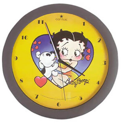 30029 ~ Betty Boop Quartz Clock Cordless Wall Mount FREE SHIPPING