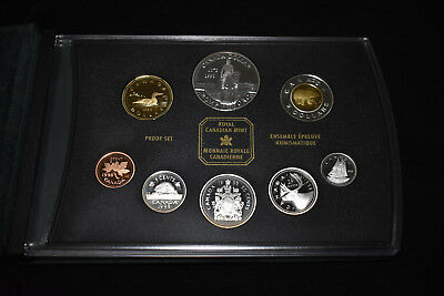 1998 Canada Silver Proof Set, Royal Canadian Mounted Police