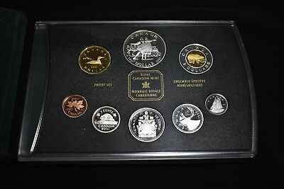 2001 Canada Silver Proof Set, National Ballet Of Canada