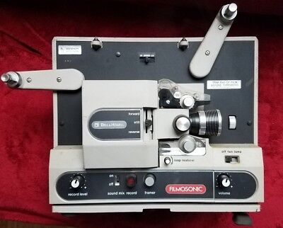 Vintage Bell & Howell Filmosonic Motion Picture Projector Super 8mm Sound 1742