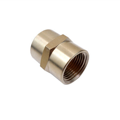 """BFC-050 BRASS 1//2/"""" NPT FEMALE  COUPLING  PIPE FITTING"""