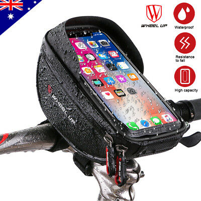 Cycling Bicycle Bike Front Frame Tube Bag Accessories Mobile Phone Pannier Pouch