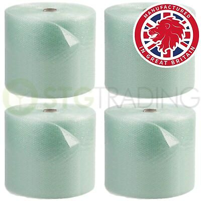 GREEN JIFFY Recycled Bubble Wrap 300mm / 500mm / 750mm Small Bubble Roll