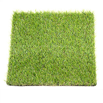 6pcs Qualityed Square Artificial Grass Astro Turf Green Lawn Garden 18*30*30mm