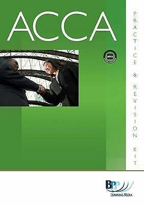 ACCA - P3 Business Analysis: Kit: Revision Kit, BPP Learning Media, Very Good Bo