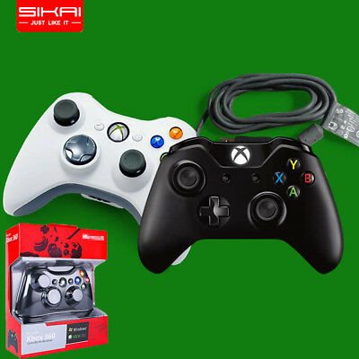 New Wired USB Game Pad joy Controller For Microsoft Xbox 360 One PC Windows