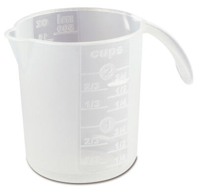 NEW Sterilite 500ml Measure Graduated Clear