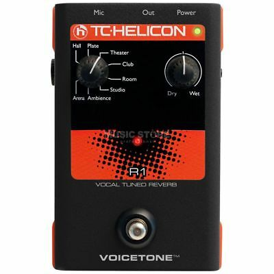 TC-Helicon TC-Helicon - VoiceTone R1 Vocal Tuned Reverb Pedal