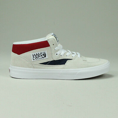6d7da653a9 VANS HALF CAB Pro Trainers Brand new box in White Size UK 7