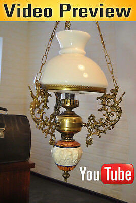 Rare antique chandelier Antique chandelier ART DECO FRENCH BRASS CEILING LAMP