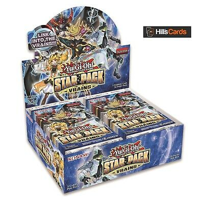 Yu-Gi-Oh TCG Star Pack VRAINS Sealed Booster Box of 50 Packs - SP18 -Trickstar