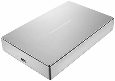 """LaCie Mobile Drive PorscheDesign  4.0 TB  2.5"""" Zoll USB 3.0,  silber"""