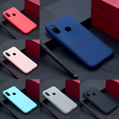For Xiaomi Redmi S2 4A 5A 6A/5 Plus Slim Soft Silicone Skin Matte Case TPU Cover