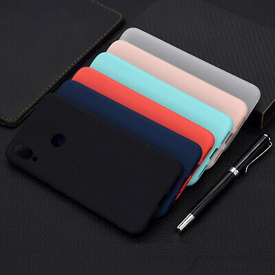 For Xiaomi Redmi S2 4A Note 4X 5A Slim Soft Silicone Skin Matte Case TPU Cover