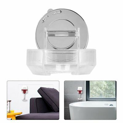 Wall Mounted Portable Wine Holder Storage Beer Wine Plastic Drink Holder x@