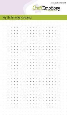 Motivstempel Clear-stamp Bullet Journal dots Punkte CraftEmotions 130501/1700