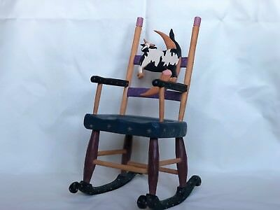 Williraye Studio Cow and the Moon Rocking Chair WW4108