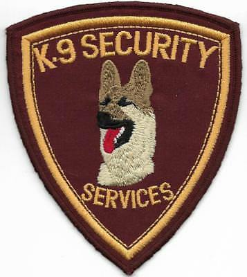 NEUSEELAND K-9 NEW ZEALAND Security Dog Police Patch Polizei Abzeichen DHF left