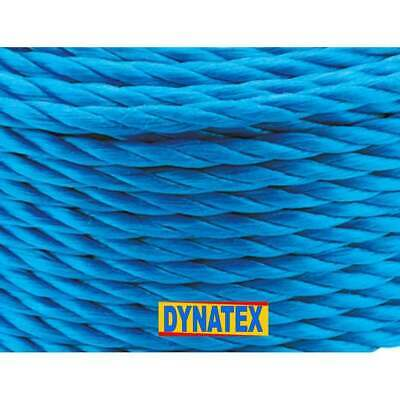Poly Rope Polypropylene Coils Tarpaulin Camping Agriculture Marine Blue NEW